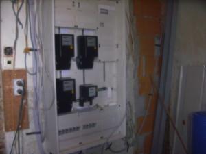 Installation-Zählerschrank